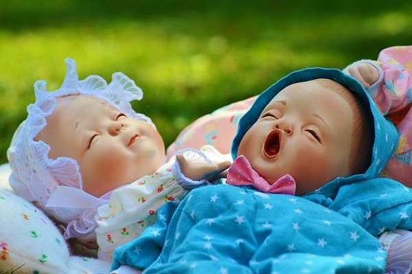 two baby doll toys for kids