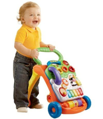 developmental baby toys VTech Sit-to-Stand Learning Walker