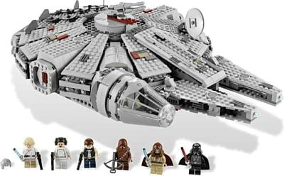 star wars toy Millennium Falcon