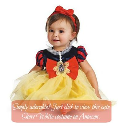 Disney snow white princess costume for toddlers