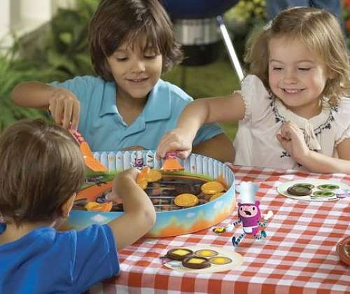 Fun BBQ Matching Game For Kids