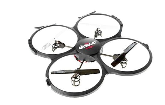 Black UDI 818A Quadcopter