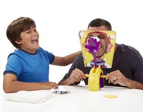 if you buy Pie Face Game your kids will lots of fun