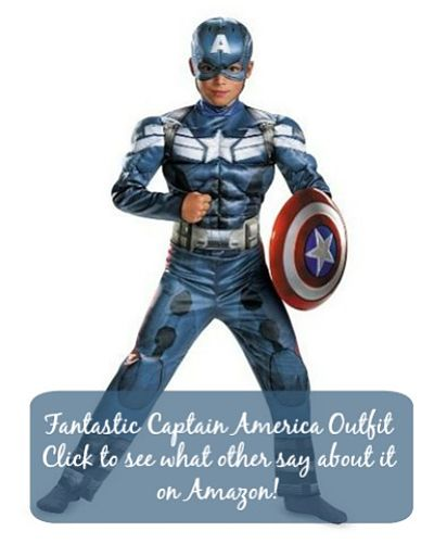 Captain America child costume