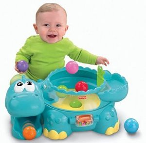 interactive baby toys Fisher-Price Go Baby Go! Poppity Pop Musical Dino