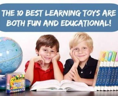 10 Best Learning Toys For Toddlers, Preschoolers & Kids