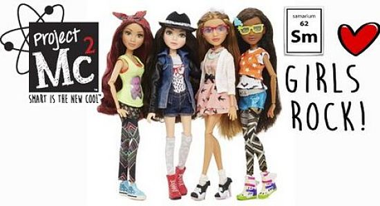 The Mc2 toys science girls