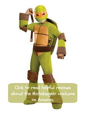 Michelangelo Turtle costume