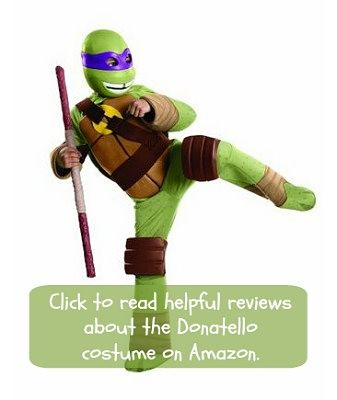 Mutant Ninja Turtles costumes for Donatello