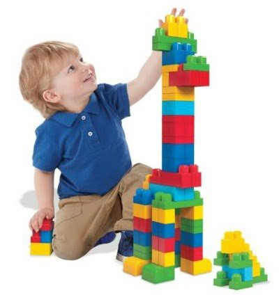 top toys for 2 year old boys mega bloks big building bag